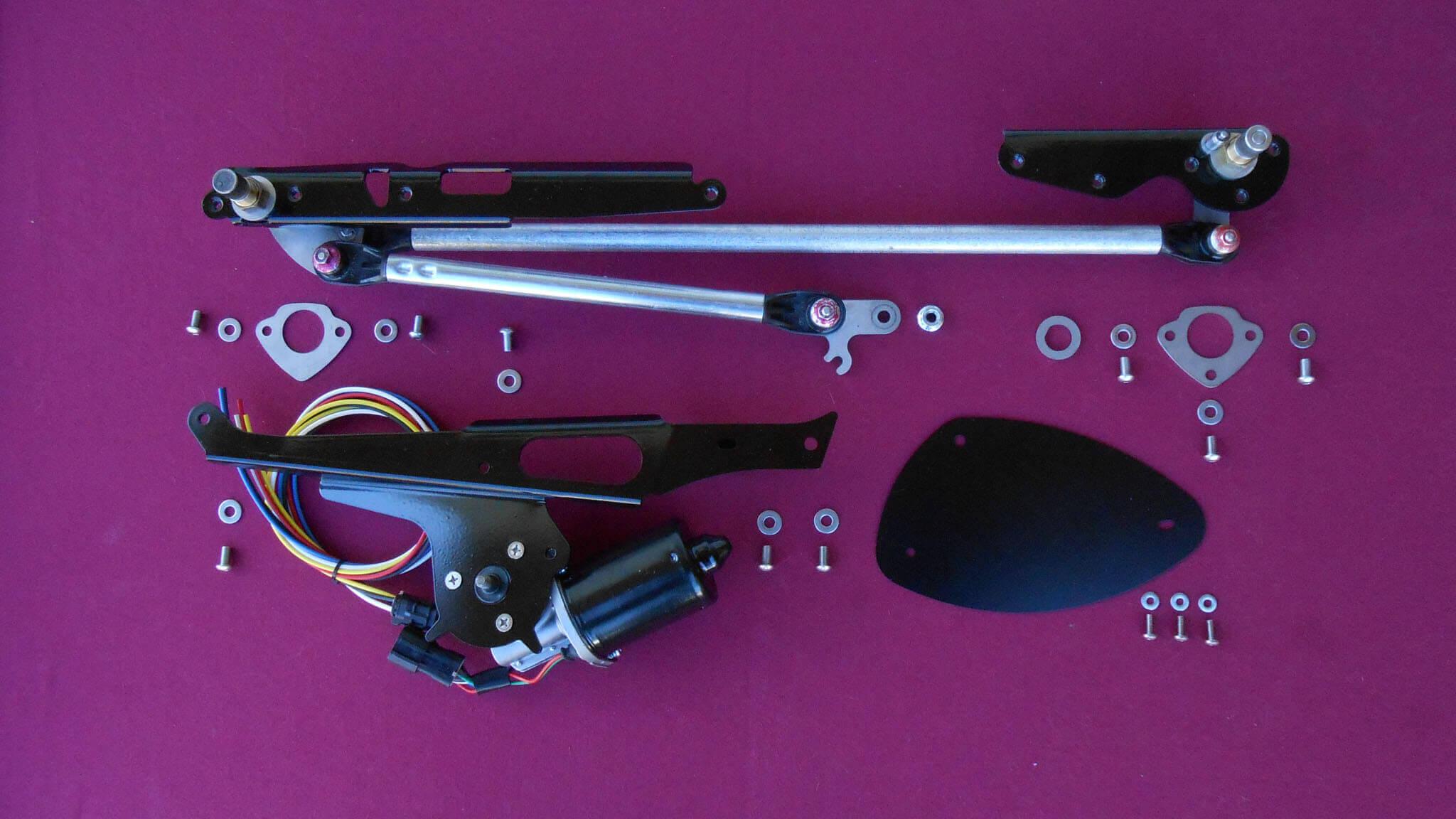 1970 1981 Camaro Hidden Wiper System Raingear Systems Engine Bay Electrical Schematics