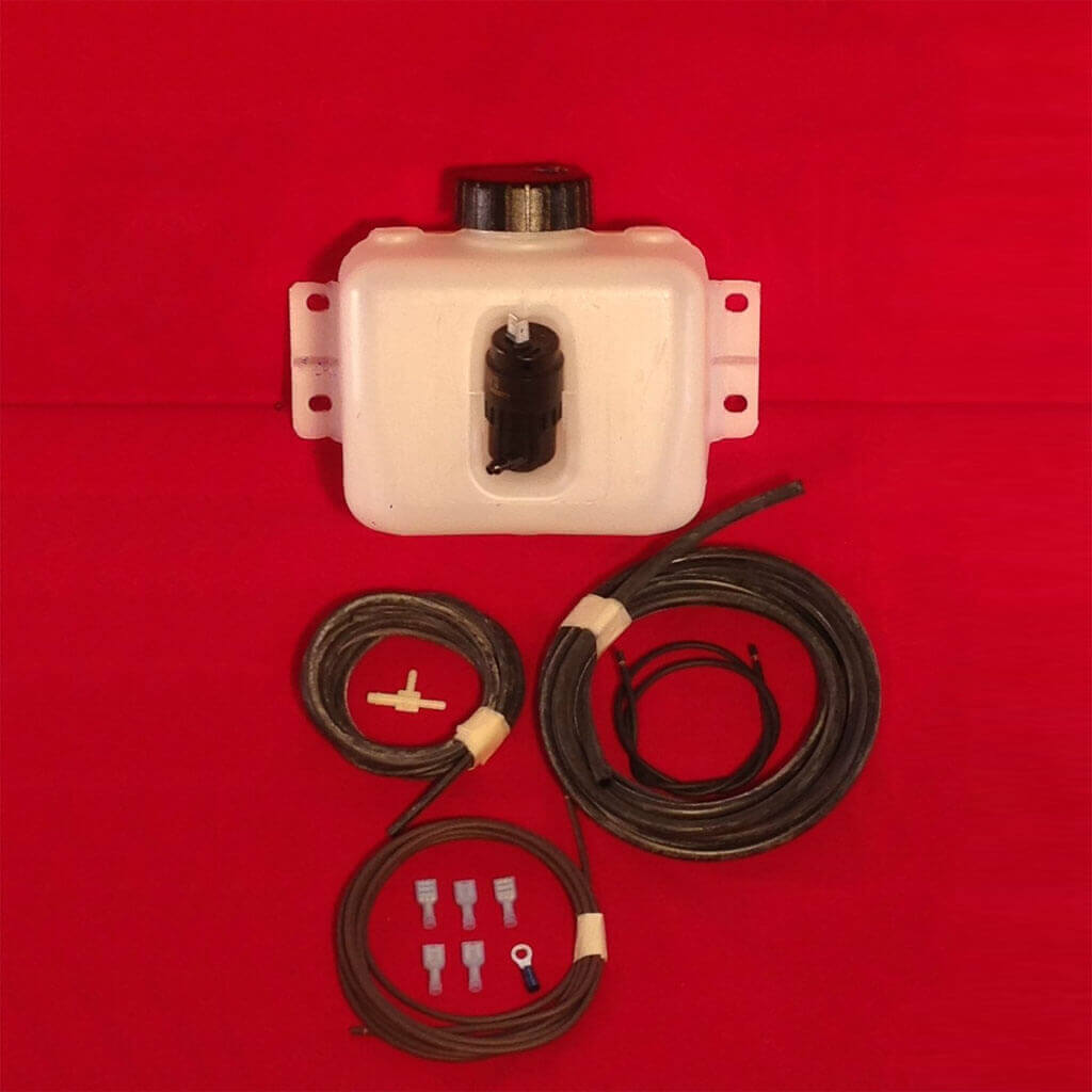 Windshield Washer Kit  Uses Nozzles On Stock Escutcheons